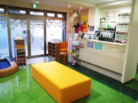 近藤歯科クリニックの待合室